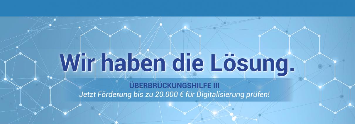 Schon gewusst? Staatliche Förderung von Digitalisierung möglich! 1