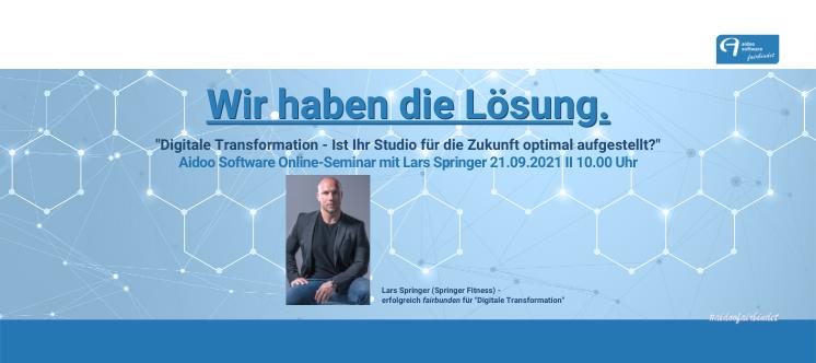 """Online Seminar """"Digitale Transformation - Ist Ihr Studio für die Zukunft optimal aufgestellt?"""" 1"""
