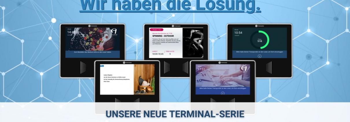 Neue Terminal-Serie - Einen Schritt weiter digitalisieren. 1