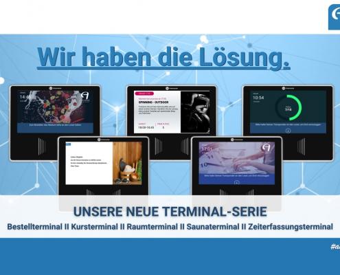 Neue Terminal-Serie - Einen Schritt weiter digitalisieren. 2